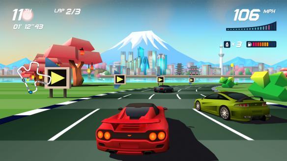 《追逐地平线Turbo》中文截图
