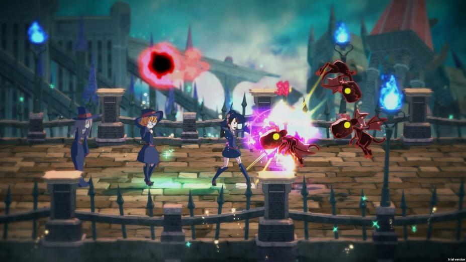 《小魔女学园:时之魔法与七不思议》游戏截图