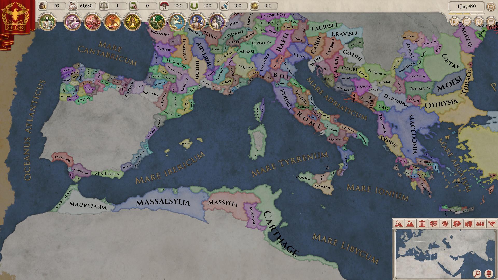 大将军:罗马/Imperator:Rome插图3