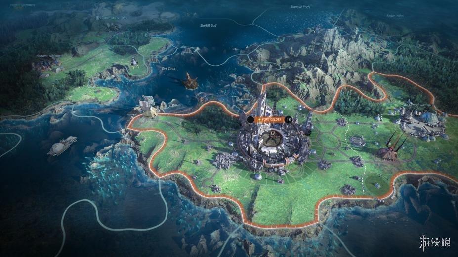 《奇跡時代:星隕》游戲截圖