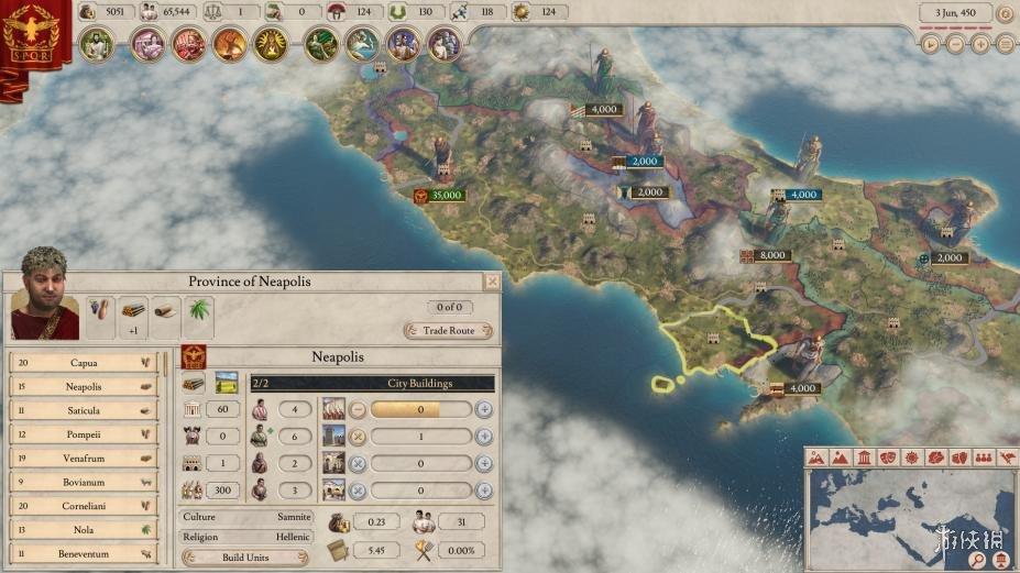《大将军:罗马》游戏截图