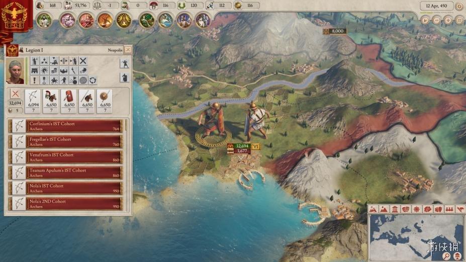《大將軍:羅馬》游戲截圖