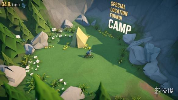 《孤山速降》游戏截图