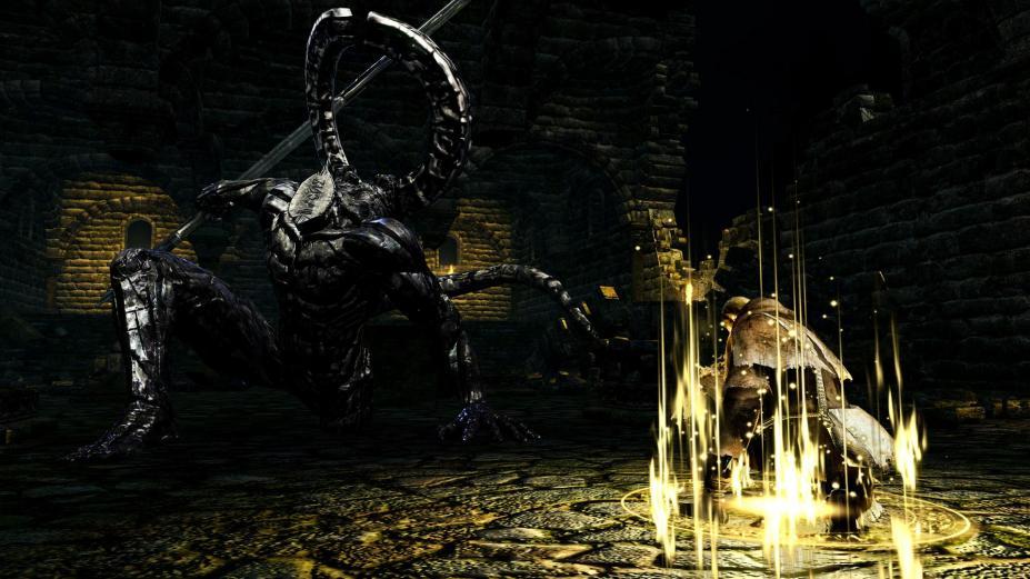 《黑暗之魂重制版》游戏截图