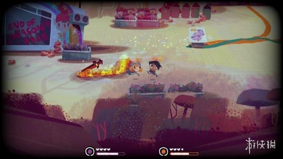《骑士与单车》游戏截图
