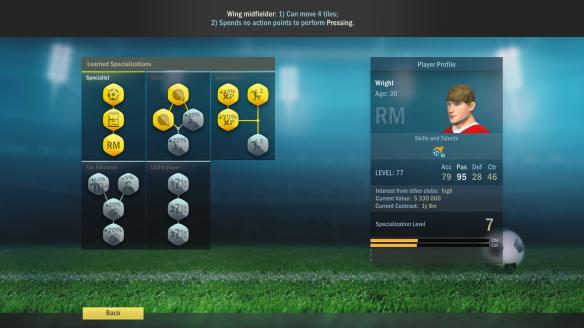 《足球、策略与荣耀》游戏截图