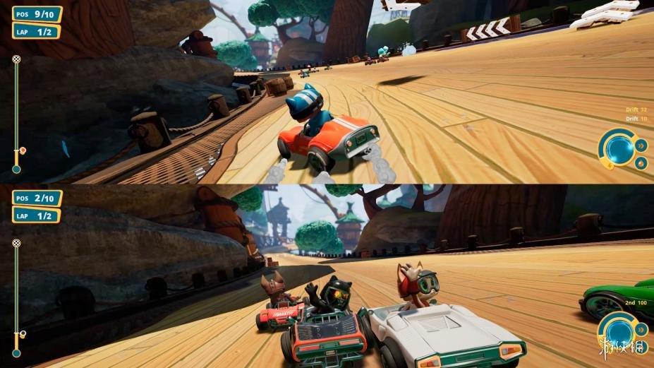 《喵星人赛车》游戏截图