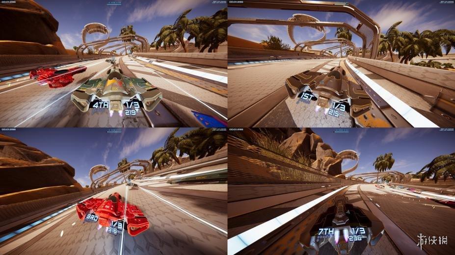 《无时速上限赛车》游戏截图