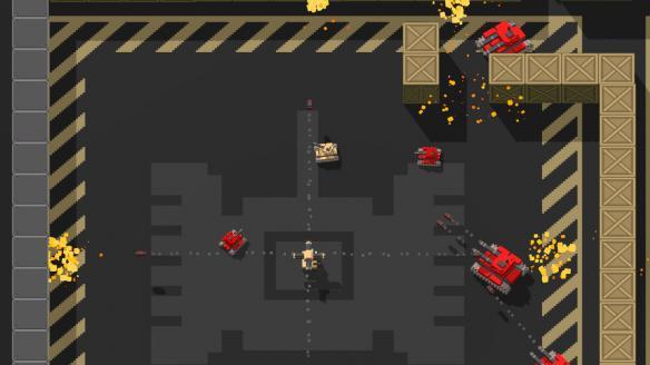 《体素坦克》游戏截图