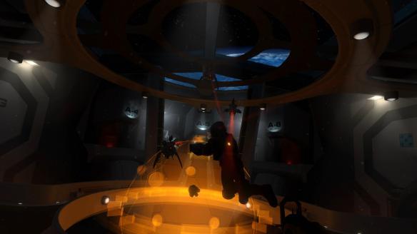 《沉沦螺旋:荷鲁斯站》游戏截图