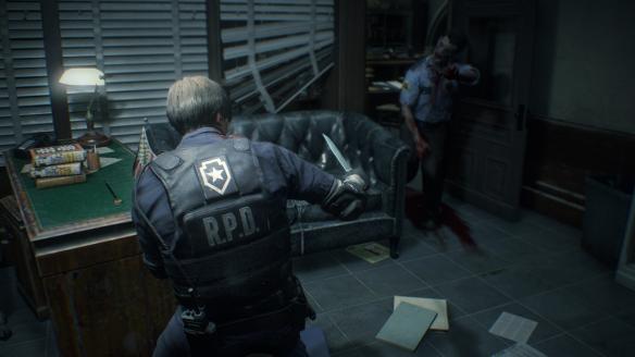 《生化危機2:重制版》游戲截圖-3
