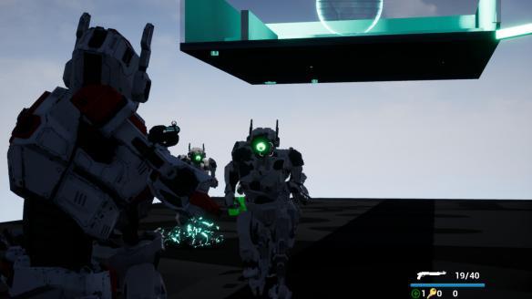 《自由机器人:自由网络之战》游戏截图