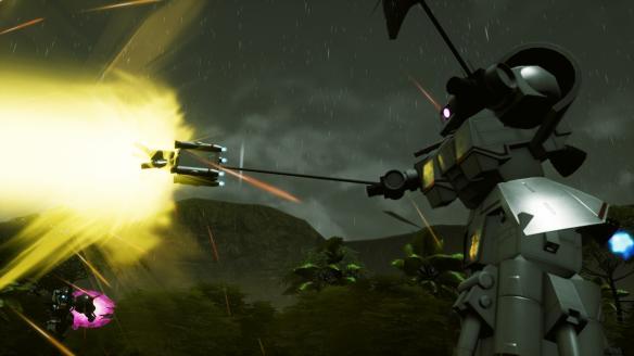 《新高达破坏者》游戏截图-2