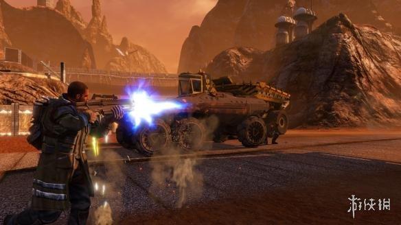 《红色派系:游击战重制版》游戏截图