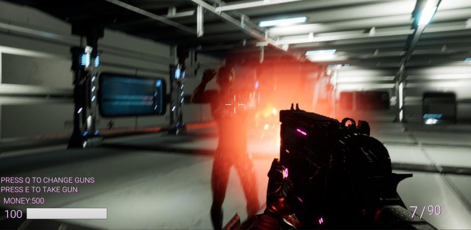 《空间站猎杀》游戏截图
