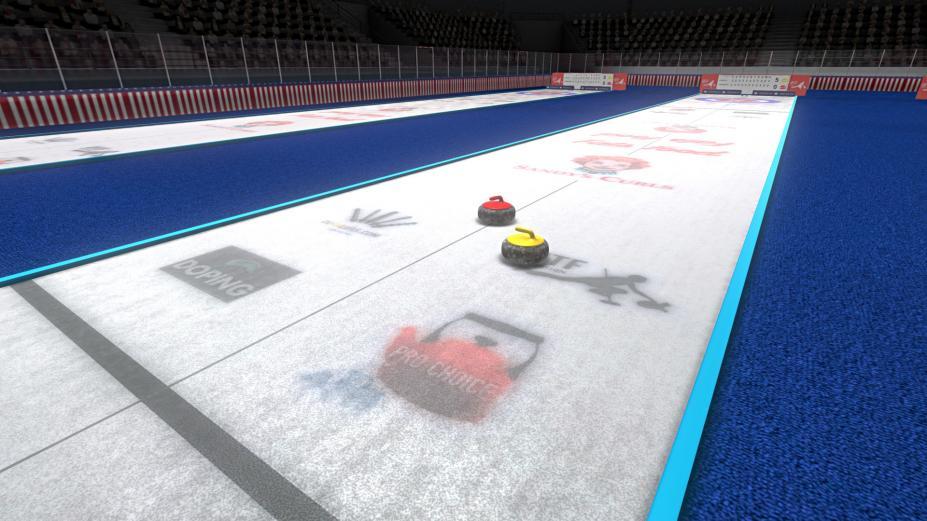 《冰壶世界杯》游戏截图