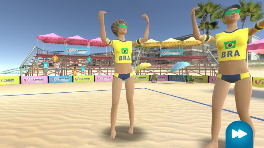 《VTree沙滩排球》游戏截图