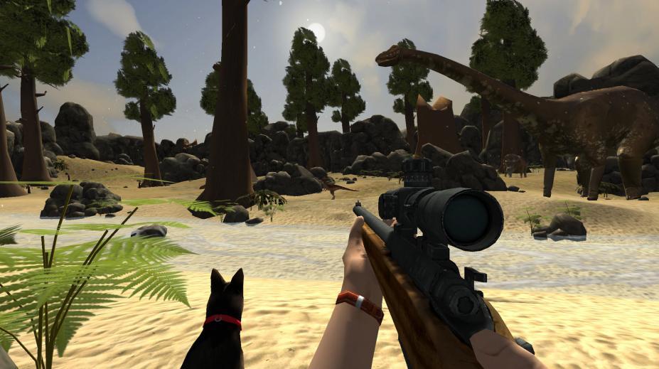 《侏罗纪公园狩猎》游戏截图
