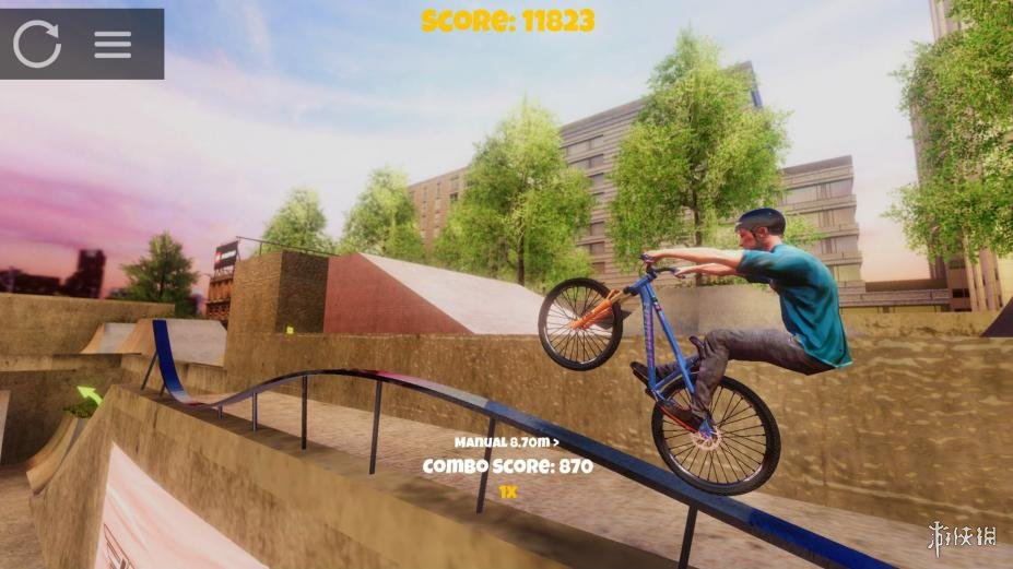 《极限挑战自行车2》游戏截图