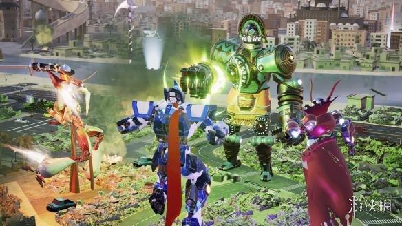 《践踏:机械城乱斗》游戏截图