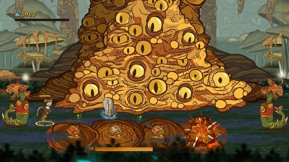 《瓦尔哈拉的荣耀》游戏截图