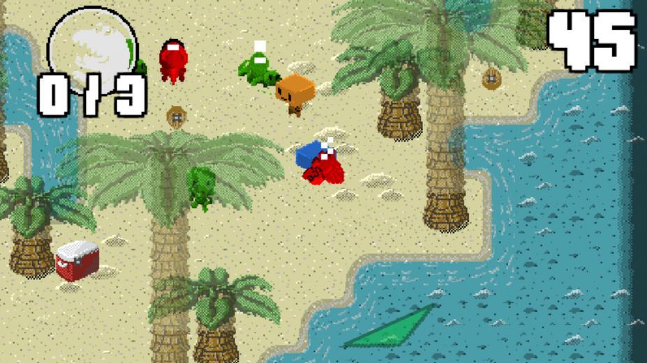 《机器人丢恐龙》游戏截图