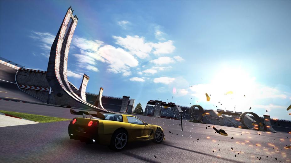 《碰撞飞车:极速版》游戏截图