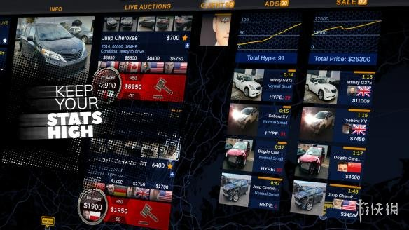 《汽车交易商模拟器》游戏截图
