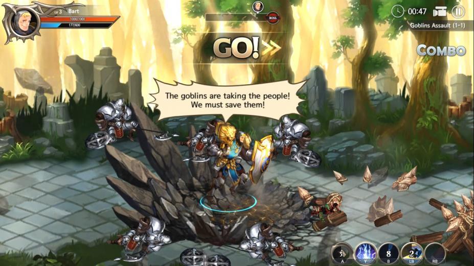 《龙之矛》游戏截图
