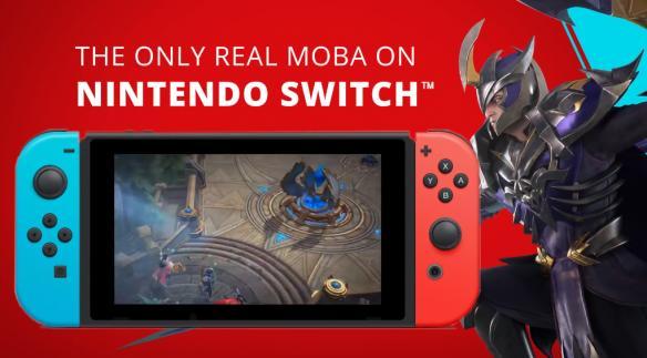 《王者荣耀》Switch版游戏截图