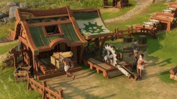 《工人物语》游戏截图