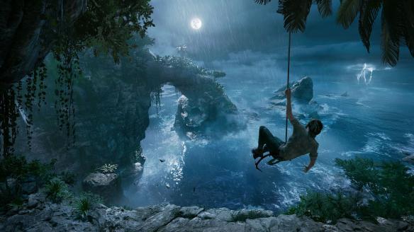 《古墓丽影:暗影》游戏截图