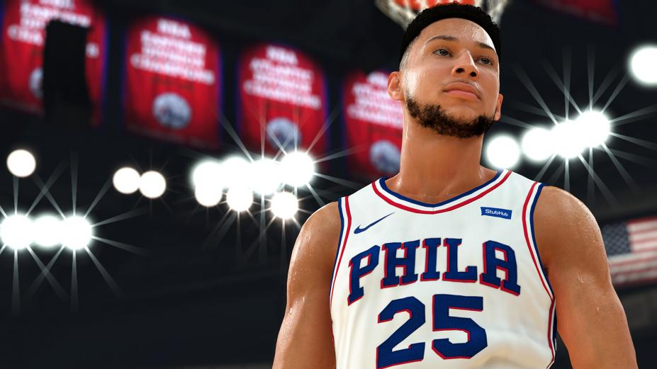 《NBA 2K19》游戲截圖