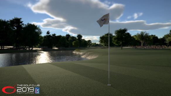 《高爾夫俱樂部2019之美巡賽》游戲截圖