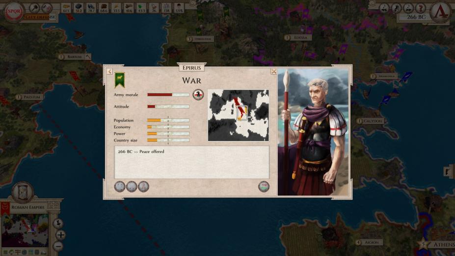 《侵略者:古罗马》游戏截图