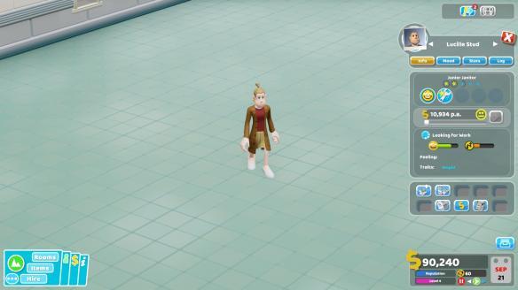 《双点医院》游戏截图-2