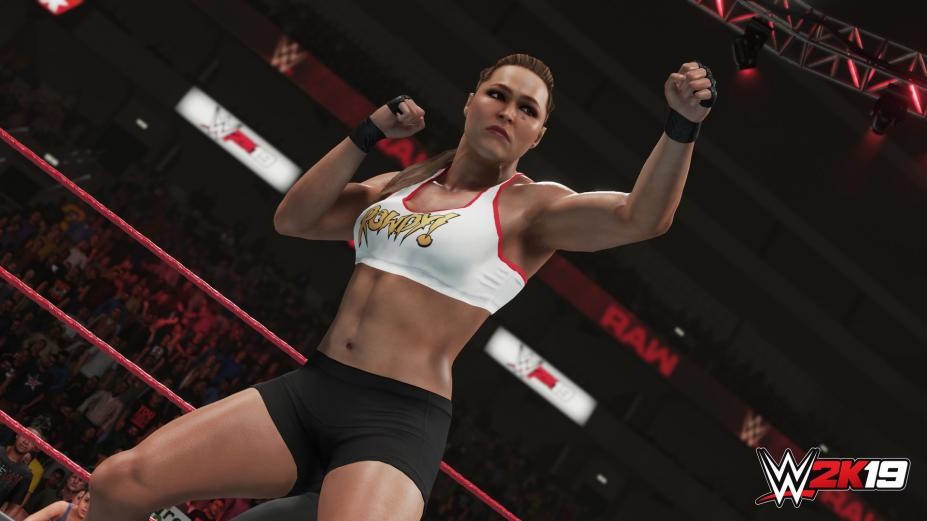 《WWE 2K19》游戏截图