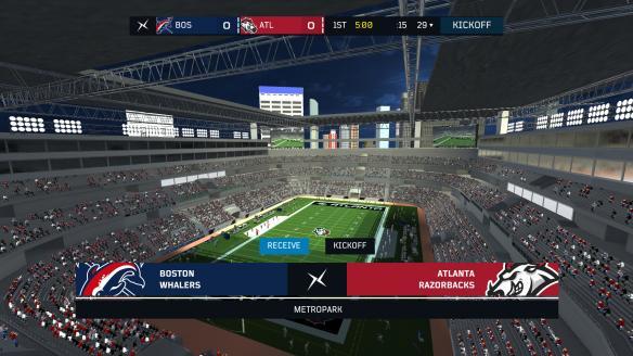 《轴心橄榄球2018》游戏截图