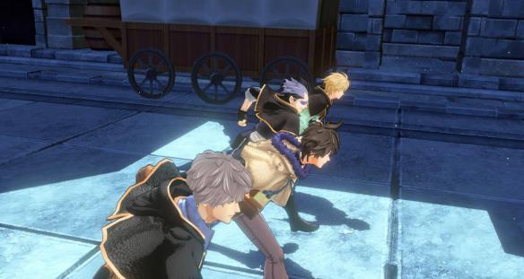 《黑色五叶草:四重奏骑士》游戏截图-2