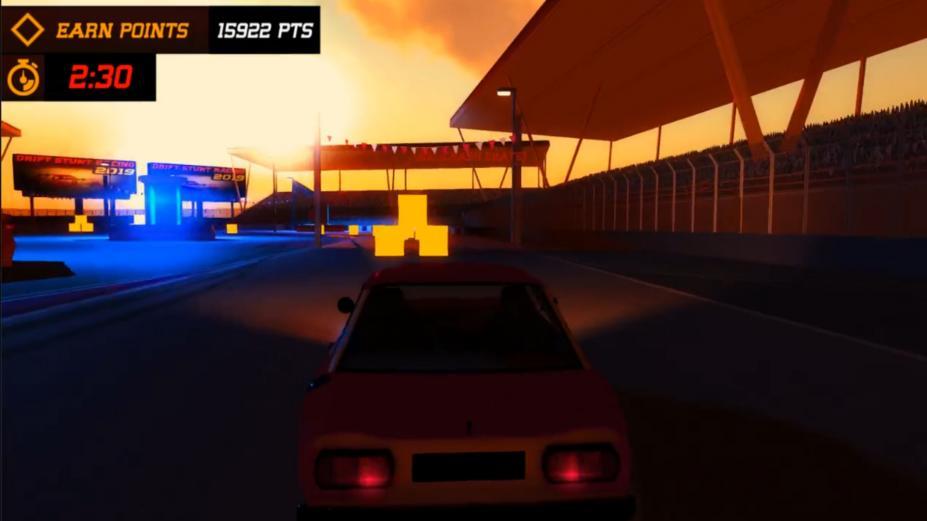 《漂移特技赛车2019》游戏截图