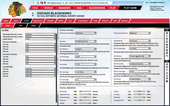《特许经营曲棍球经理5》游戏截图