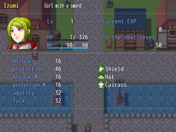 《大剑少女》游戏截图