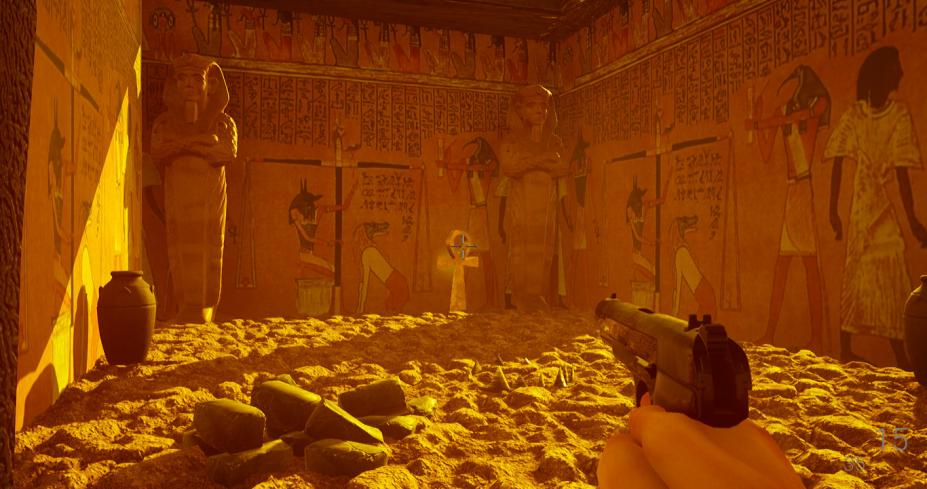 《木乃伊法老》游戏截图