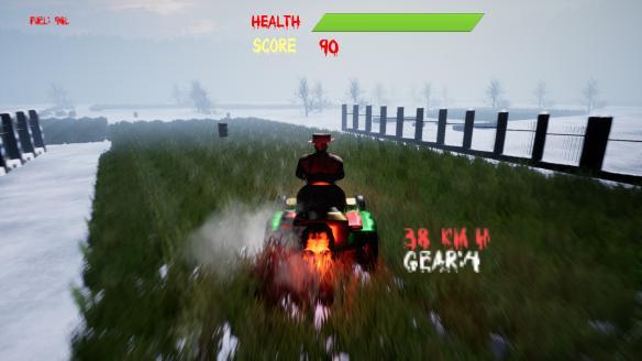 《割草机游戏3:恐怖》游戏截图