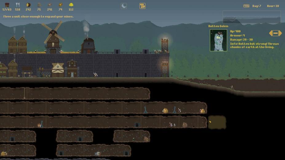 《冷峻的夜》游戏截图