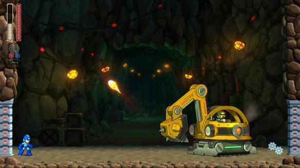 《洛克人11》游戏截图-2