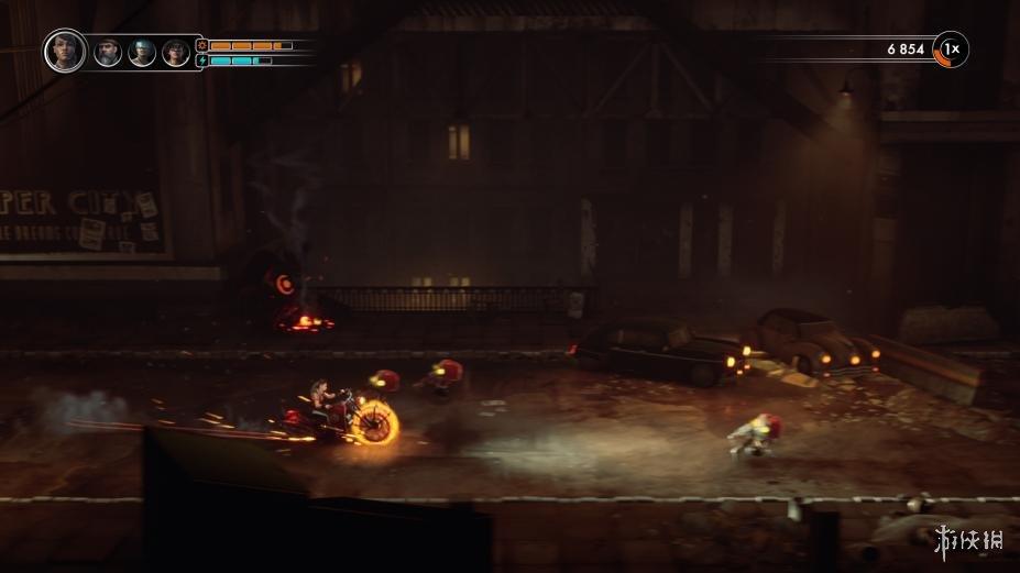 《钢铁之鼠》游戏截图