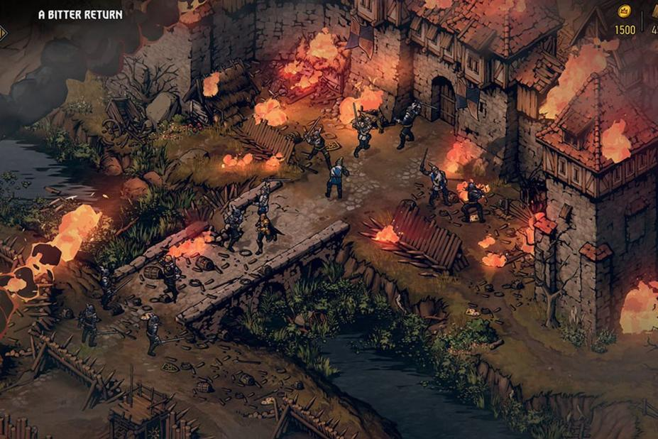 《王权的陨落:巫师传说》游戏截图