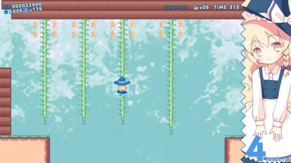 《魔理沙大陆・遗产》游戏截图