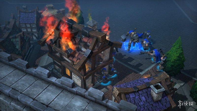 《魔獸爭霸3:重制版》游戲截圖